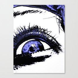 Hostile Hallucination Canvas Print
