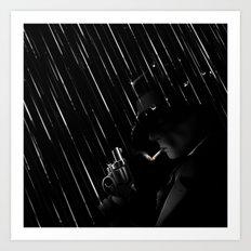 Rain Rain Go Away Art Print