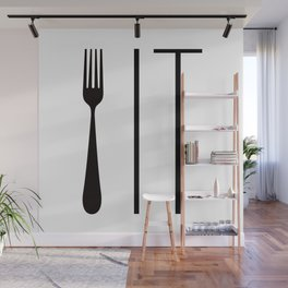 Fork It Wall Mural