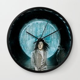 Time Traveler Wall Clock