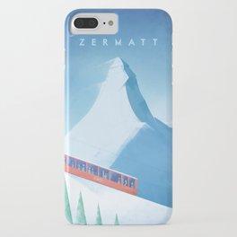 Ski Zermatt iPhone Case