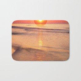 Sunrise Over Ocean Bath Mat