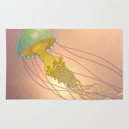 jellyfish-red Rug