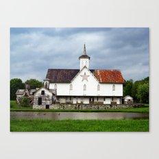 Star Barn Canvas Print