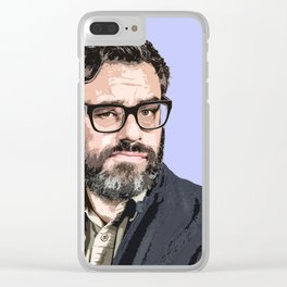 Jemaine Clement 4 Clear iPhone Case
