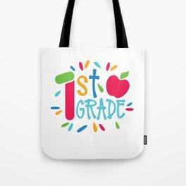 1st Grade Tote Bag
