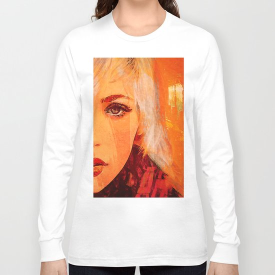 While waiting for your smile Long Sleeve T-shirt