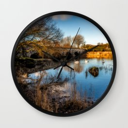 Pont Pen y Llyn Bridge Wall Clock
