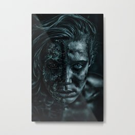 Contamination Metal Print