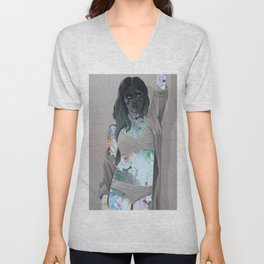 Body Paint Unisex V-Neck