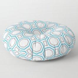 Blue Harmony II Symmetry Floor Pillow