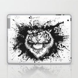 TigARRGH!! (Black and White) Laptop & iPad Skin