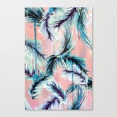 Pink tropical haze Canvas Print