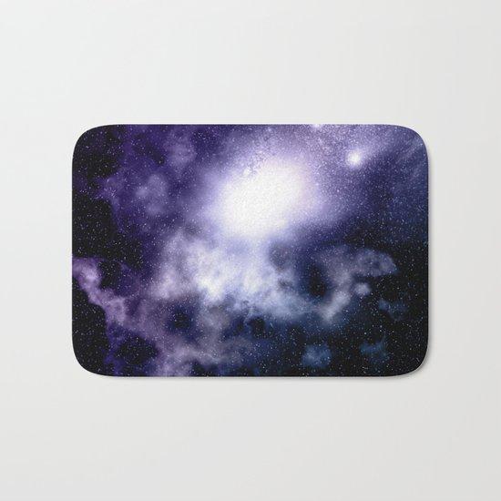 Purple Nebula Bath Mat