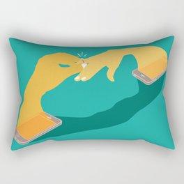 Digital Love Rectangular Pillow