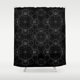 Spiritual Equanimity 05 Shower Curtain