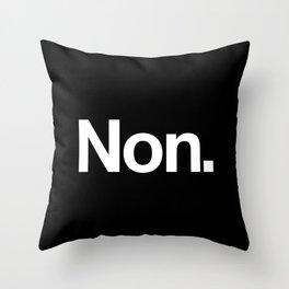 Non Throw Pillow
