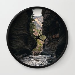 The Rush - Ouray, CO. Wall Clock