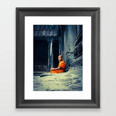 Angkor Calm Framed Art Print
