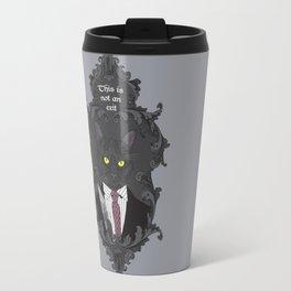 American Psycho Kitty Travel Mug