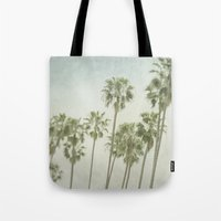 palm trees Tote Bags featuring Palm Trees by Pure Nature Photos
