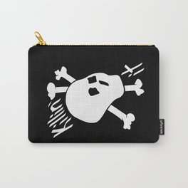 Killin' it Skull And Crossbones Carry-All Pouch