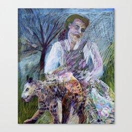 She Leopard Canvas Print