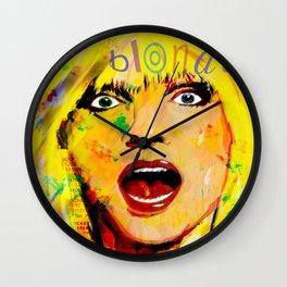 ROCK ICON DEBBIE HARRY Wall Clock