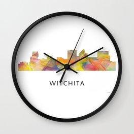 Witchita Kansas Skyline WB1 Wall Clock