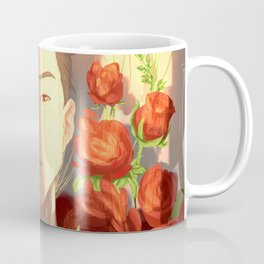 Surrounded by Roses Coffee Mug