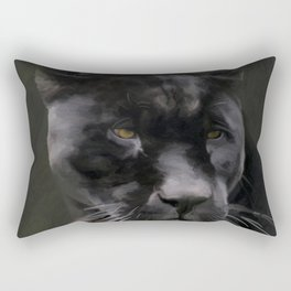 Black Beauty Rectangular Pillow