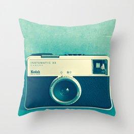 Vintage memory Throw Pillow