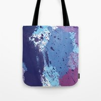 splatter Tote Bags featuring Splatter by initiale