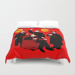 Communist Party II: The Communing Duvet Cover