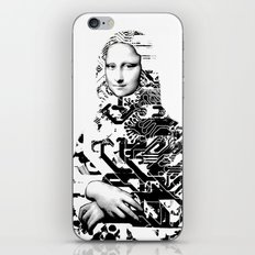 Mona Lisa Platina 1 iPhone & iPod Skin