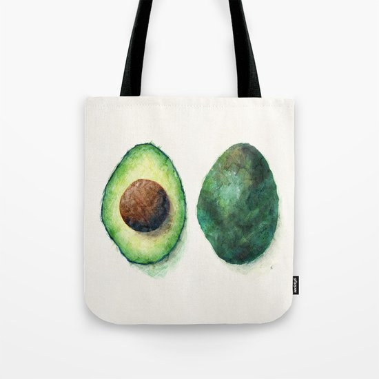 Avocado Split Tote Bag