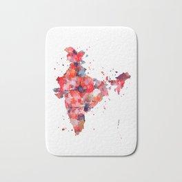India Map Bath Mat
