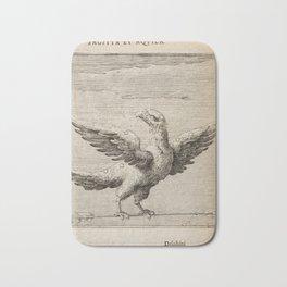Hugo de Groot's Syntagma Arateorum 1600 - 25 Sagitta, Aquila Bath Mat