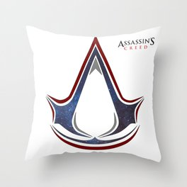 Assassins Creed - Space Throw Pillow