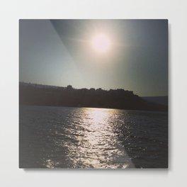 Sunset on the Sea of Galilee Metal Print