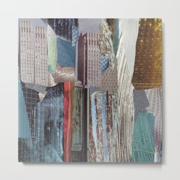 Free Association City Metal Print