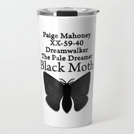 DREAMWALKER - THE PALE DREAMER - BLACK MOTH Travel Mug