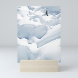 62. 50 shades of white, France Mini Art Print