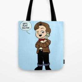 Let's Play Doctor. Tote Bag