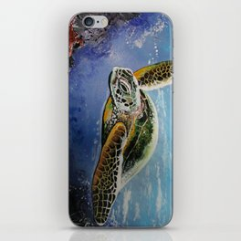 Sea Turtle iPhone Skin