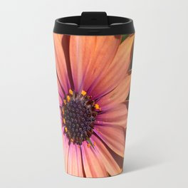 Sunset African Daisy Travel Mug