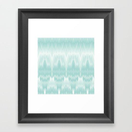 Pattern pending Framed Art Print