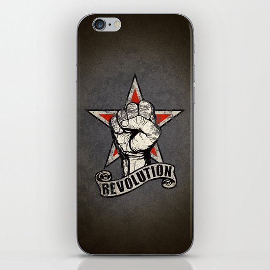 Up The Revolution! iPhone & iPod Skin