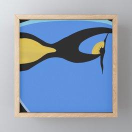 Dory - Regal Tang Fish - Finding Nemo Framed Mini Art Print