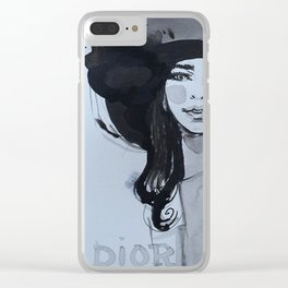post vogue Clear iPhone Case